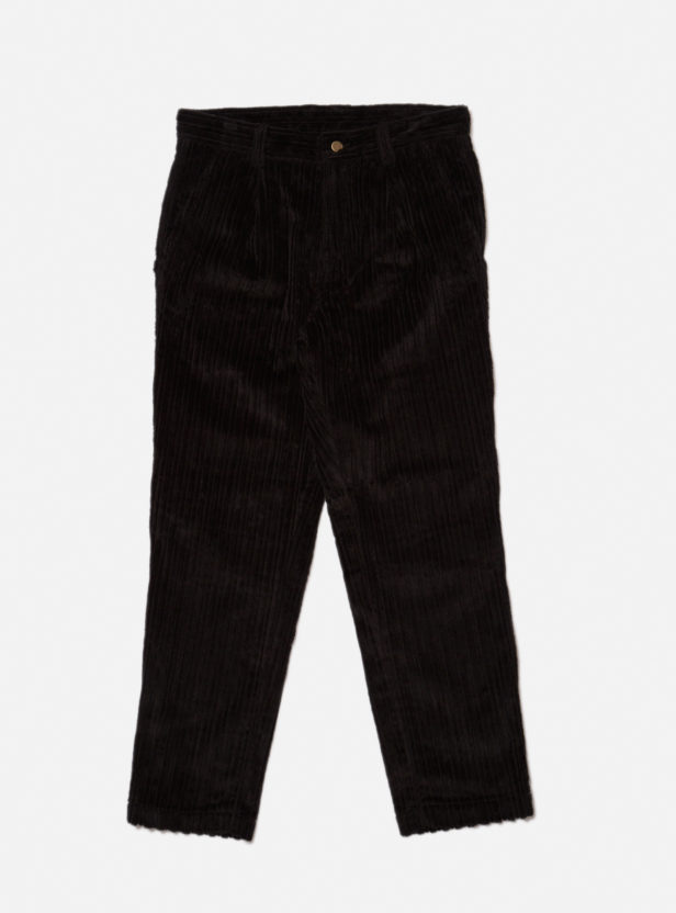 PLEATED CORD TROUSER