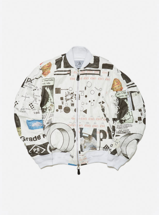 CO TEX PAPER BOMBER JACKET