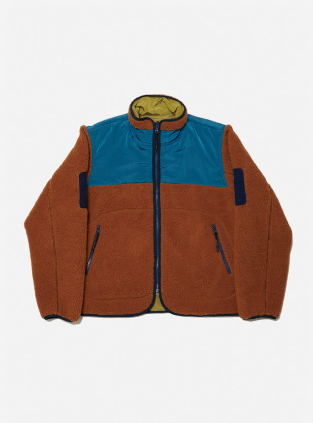 SHELPA FLEECE REVERSIBLE JACKET
