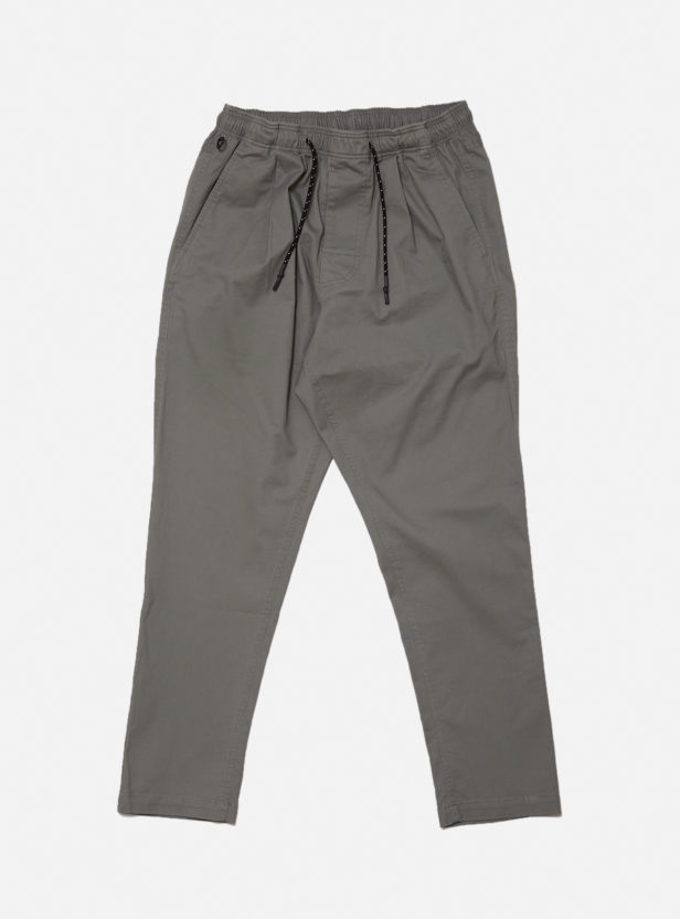 COTTON ELASTIC WAIST TROUSER