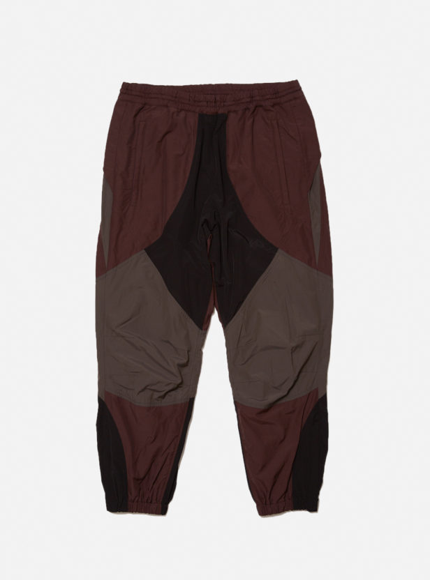 COLOR BLOCK NYLON TRACK PANT