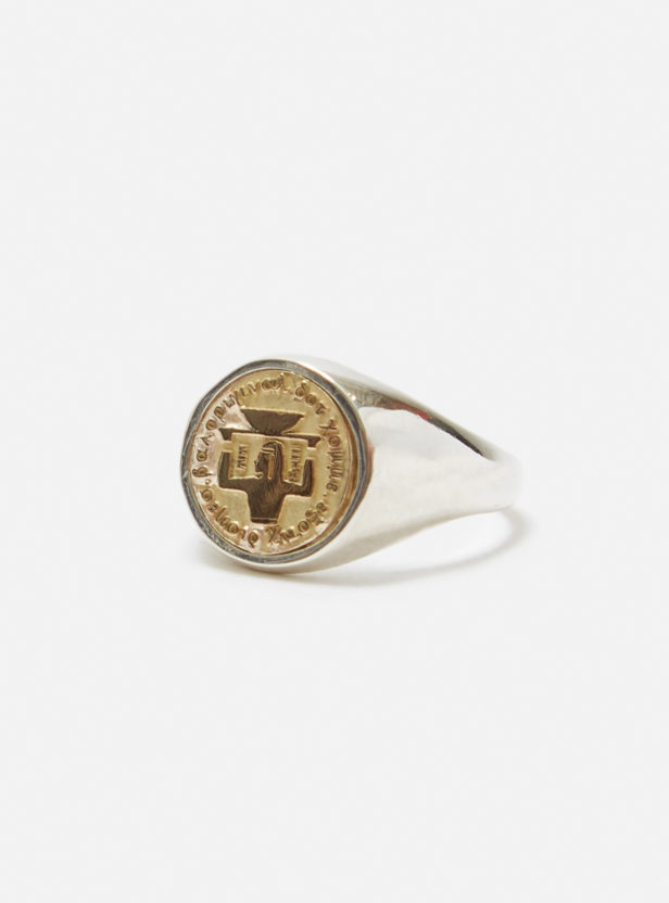 EXOTIC DISHES SIGNET RING