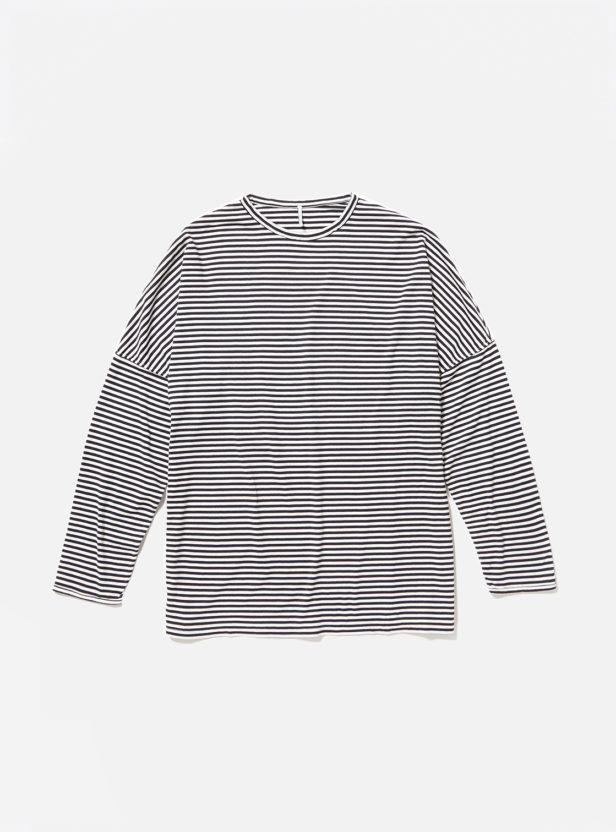 "ETHOS ""BORDER DS LONG TEE"""
