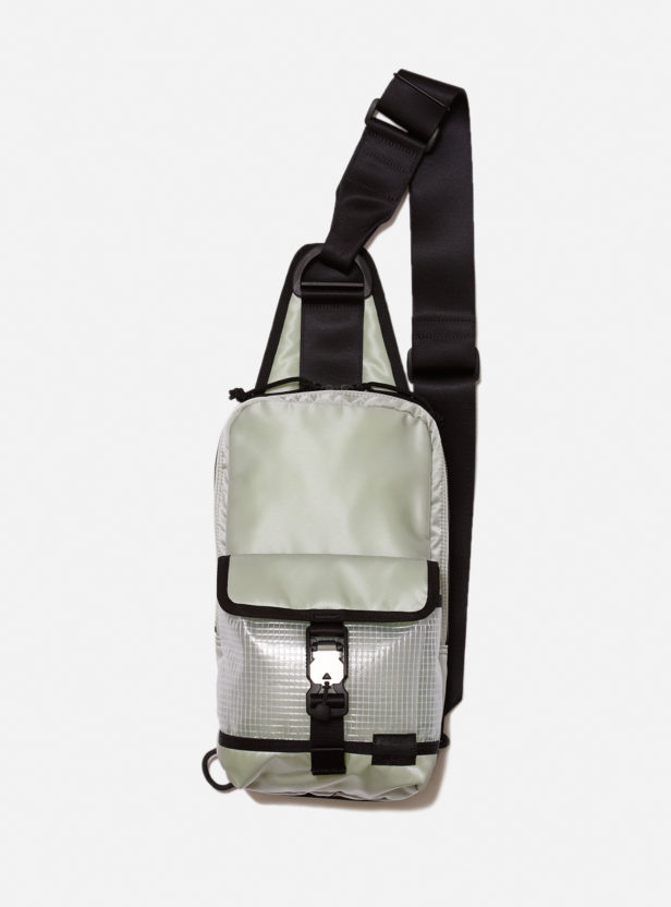 BAL/PORTER® FLGHT NYLON PVC POCKET SLING BAG