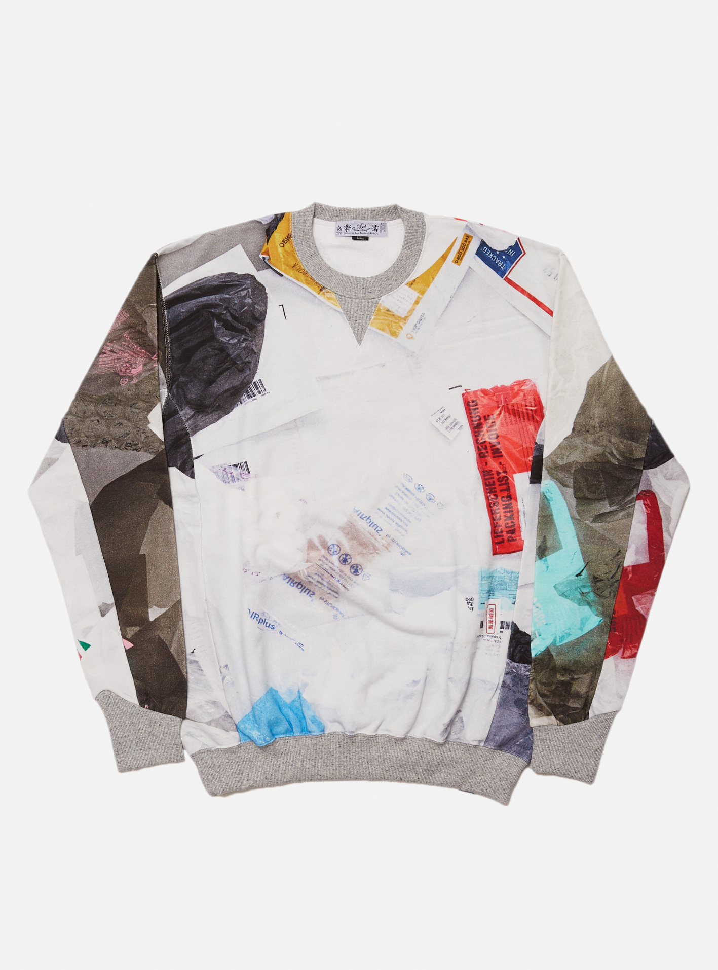 TRASH CREW SWEAT SHIRT