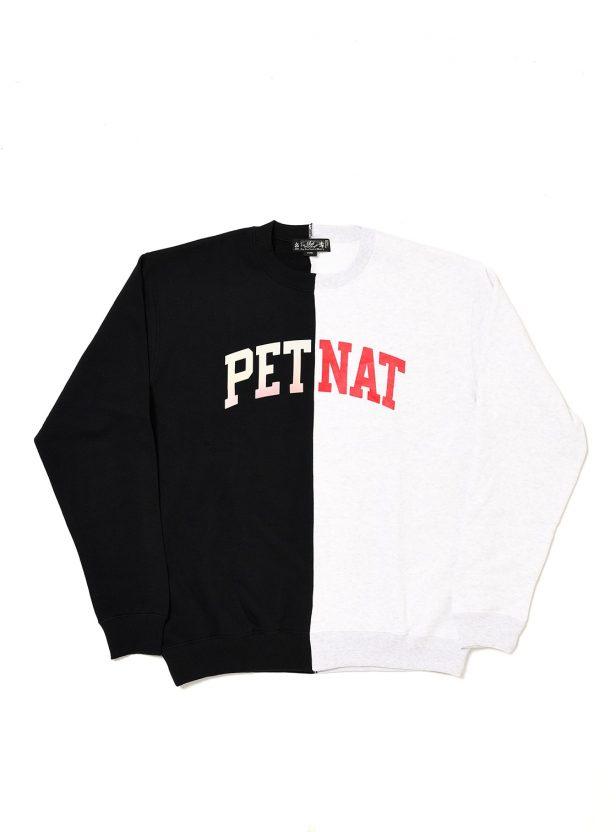 PETNAT  REWORKED CREW SWEAT SHIRT