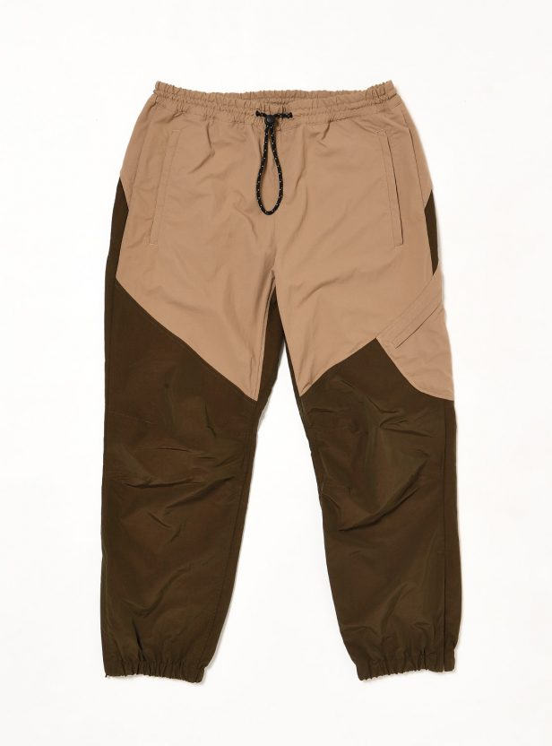 SIDE POCKET NYLON TRACK PANT