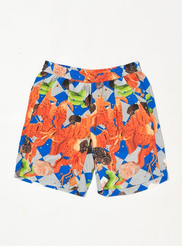 COLLAGE RAYON SHORT PANT
