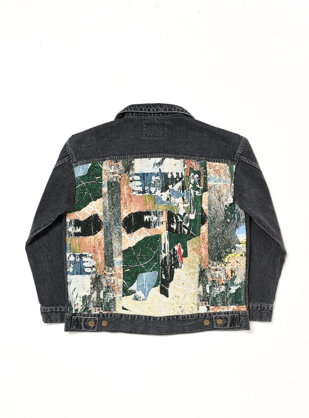 Jose Parla x bal ZIP UP JEAN JACKET