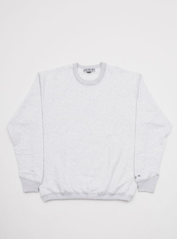 CONTRAST STITCH CREW SWEAT SHIRT