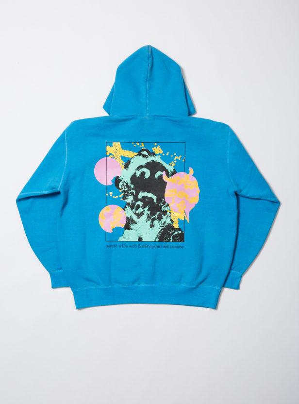 Collage hoodie