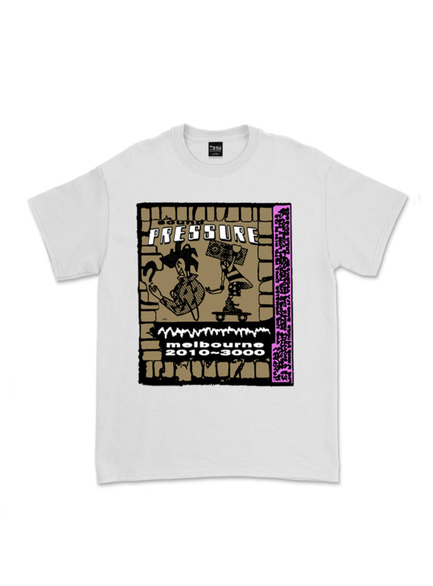 """BUTTER SESSIONS """"Sound Pressure T-shirt"""""""